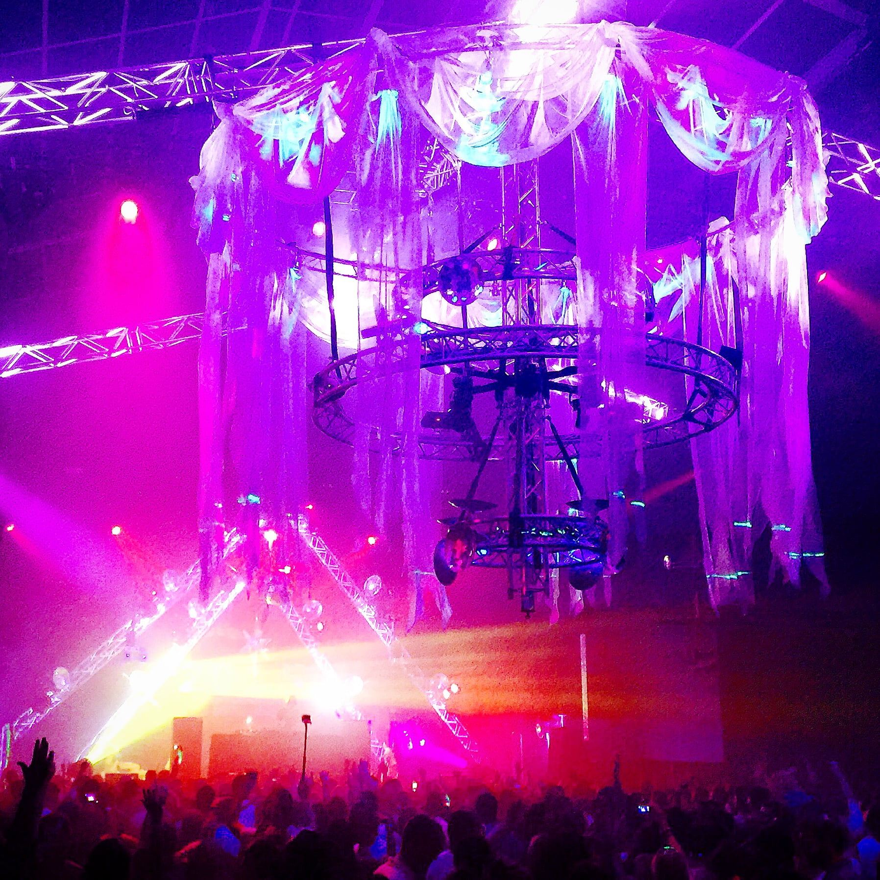 Harbour Party NYE at Luna Park Sydney presented by Modular Event Solutions
