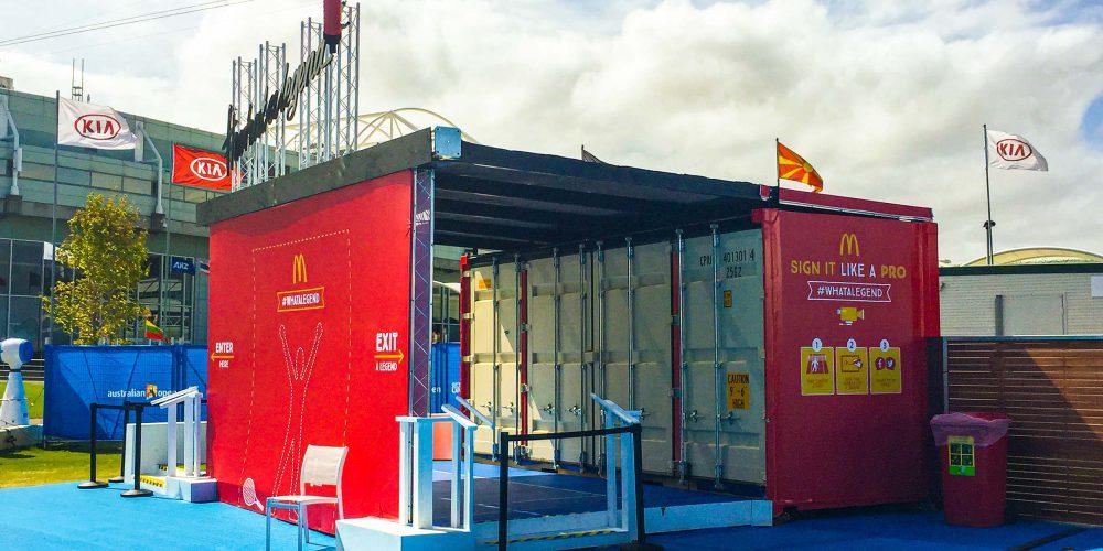 McDonald's Modular Event Solutions