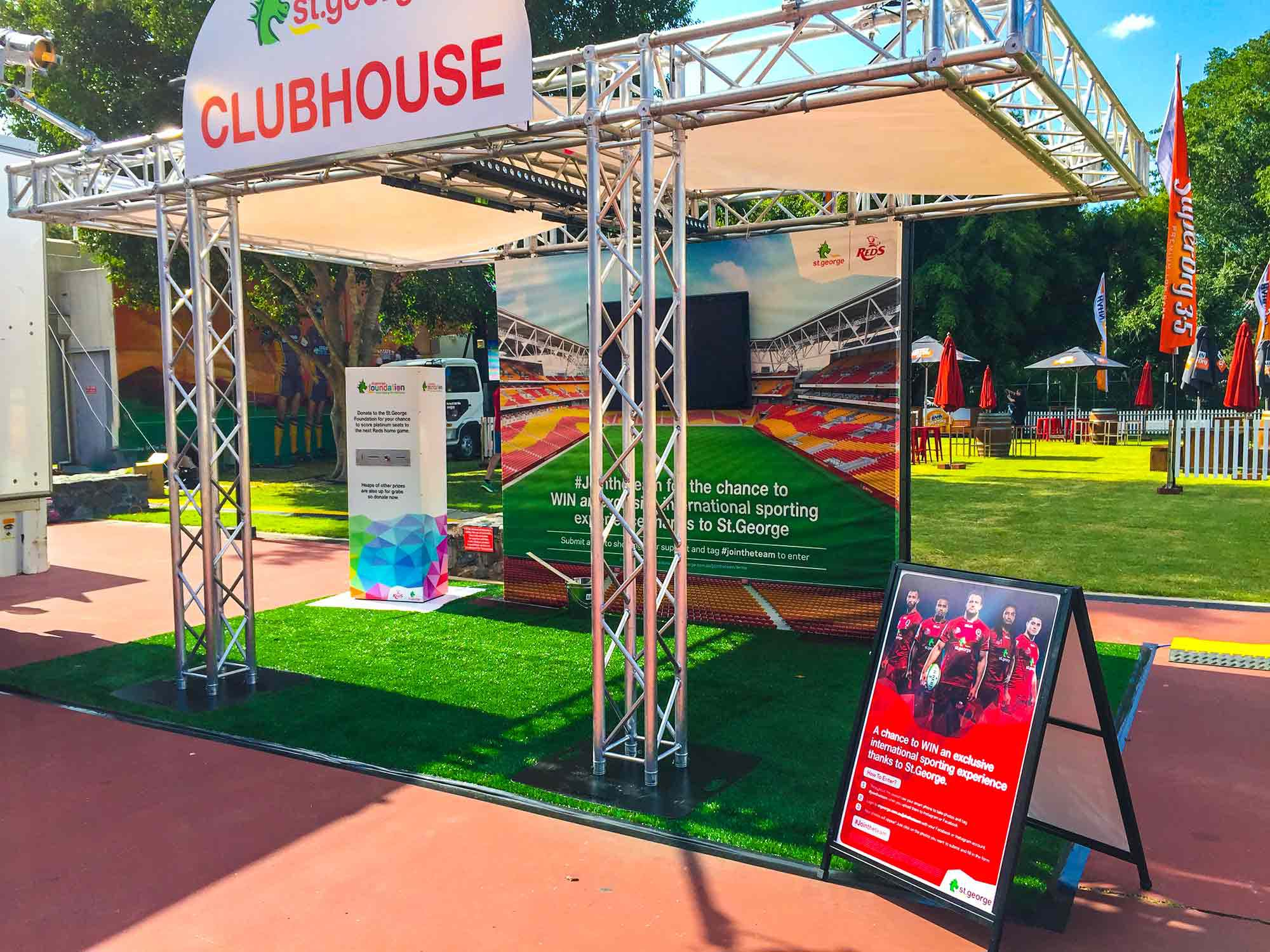 St George Clubhouse Modular Event Solutions