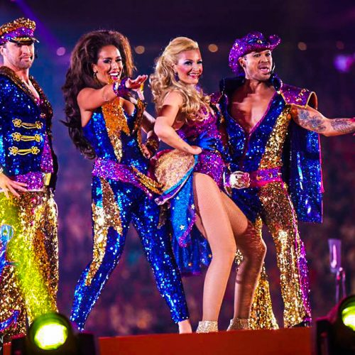 Vengaboys on tour in Australia with production by Modular Event Solutions