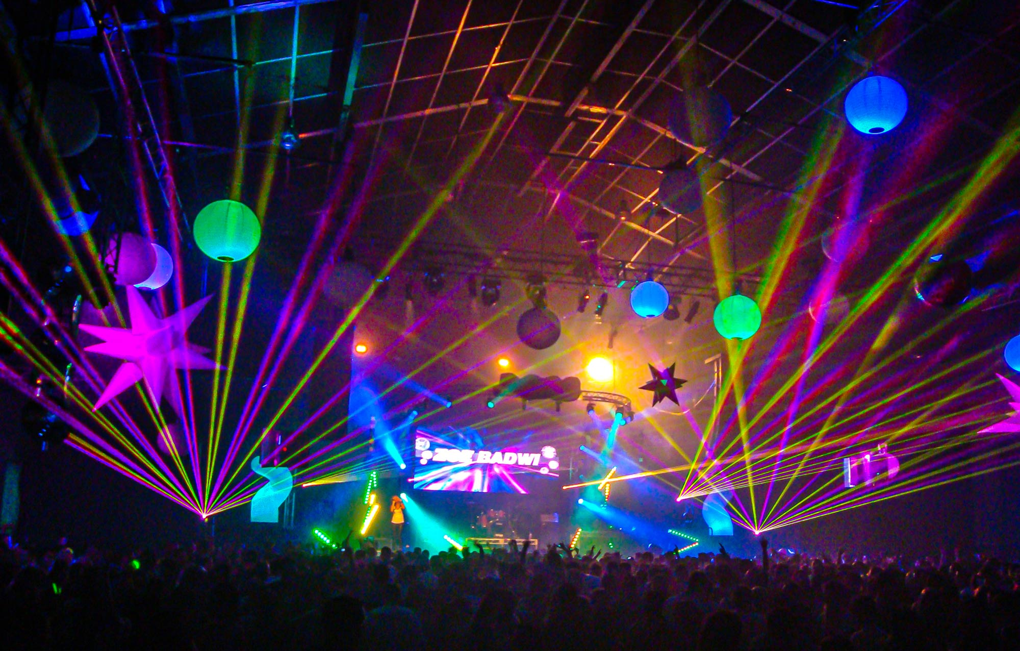 Harbour Party NYE at Sydney produced by Modular Event Solutions