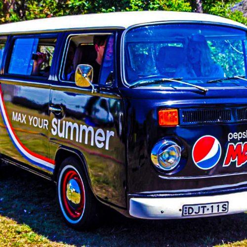 Pepsi Max Kombi Van by Modular Event Solutions