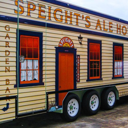 Speights Ale House built by Modular Event Solutions